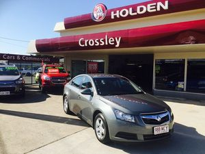2011 Holden Cruze 3713451 CD Grey 6 Speed Automatic Sedan