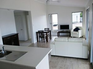 Brand new 2 bedroom modern design with large verandahs Must Sell. $5,000 Discount Great holiday home or Granny Flat can be delivered anywhere in Qld before Xmas $149,900 ONO PH: OLY Homes 0427 100 788
