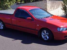 Ford Ute BA XLS V8 2002