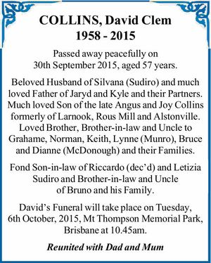 1958 - 2015