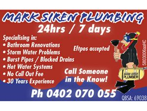 MARK SIREN PLUMBING