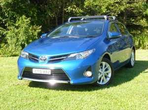 2014 Toyota Corolla ZRE182R Ascent Sport S-CVT Blue 7 Speed Constant Variable Hatchback