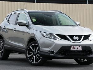 2015 Nissan Qashqai J11 TI Platinum 1 Speed Constant Variable Wagon