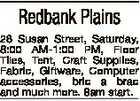 Redbank Plains 28 Susan Street, Saturday, 8:00 AM-1:00 PM, Floor Tiles, Tent, Craft Supplies, Fabric, Giftware, Computer accessories, bric a brac and much more. 8am start.