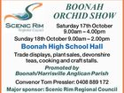 BOONAH ORCHID SHOW