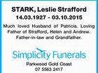 STARK, Leslie Strafford