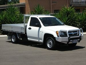 2008 Holden Colorado RC DX (4x2) White 5 Speed Manual Cab Chassis