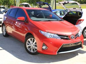2013 Toyota Corolla ZRE182R Ascent Sport S-CVT Wildfire 7 Speed Constant Variable Hatchback