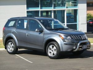 2014 Mahindra XUV500 (FWD) Grey 6 Speed Manual Wagon