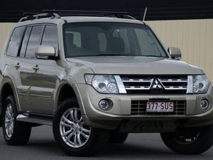 2012 Mitsubishi Pajero NW MY13 VR-X Gold 5 Speed Auto Seq Sportshift Wagon