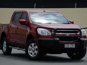 2013 Holden Colorado RG MY13 LT Crew Cab Red 5 Speed Manual Utility