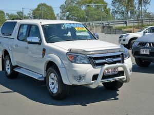 2011 Ford Ranger PK XLT White 5 Speed Manual Utility