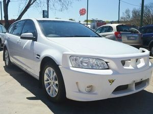 2010 Holden Berlina VE Series II Sportwagon White 6 Speed Steptronic Wagon