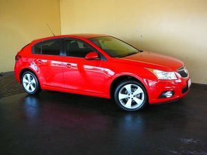 2013 Holden Cruze JH MY14 Equipe Red 5 Speed Manual Hatchback