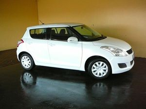 2011 Suzuki Swift FZ GL White 4 Speed Automatic Hatchback
