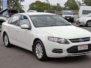 2012 Ford Falcon FG MkII XT EcoLPi White 6 Speed Semi Auto Sedan