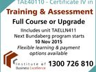 TAE40110 - Certificate IV in Training & Assessment