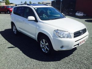 2007 Toyota RAV4 CRUISER White 4 Speed Wagon
