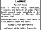 BOVEY, LAURENCE (LAURIE)