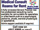 Medical Consult Rooms for Rent
