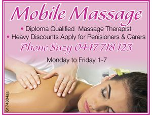 Diploma Qualified Massage Therapist