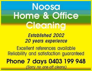 Established 2002   20 years experience   Excellent references available   Reliability and satisfaction guaranteed   Phone 7 days