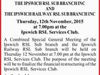 COMBINED SPECIAL GENERAL MEETING