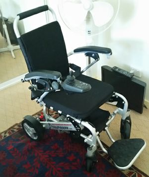 Light, versatile, easy to collaspe..only used once...comes with training wheels and air seat for easy alighting from wheelchair..total value $3900 will sell for $2900...be quick...