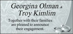 Together with their families are pleased to announce their engagement.