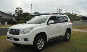 Toyota Prado GXL 2010, 3.0 L TD 150 series. White. One owner. Toyota service history. No beach or off road. 260,000 highway travel. Dual battery. Electric brakes. Tow bar. Great condition. RWC,   $28,500. Ph 0411 880 421