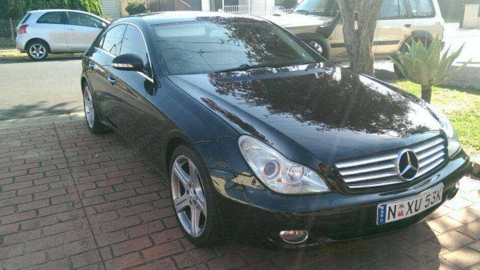 2007 Mercedes-benz CLS 350