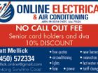 ONLINE ELECTRIC & AIR CONDITIONING