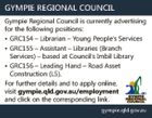 Gympie Regional Council Librarian