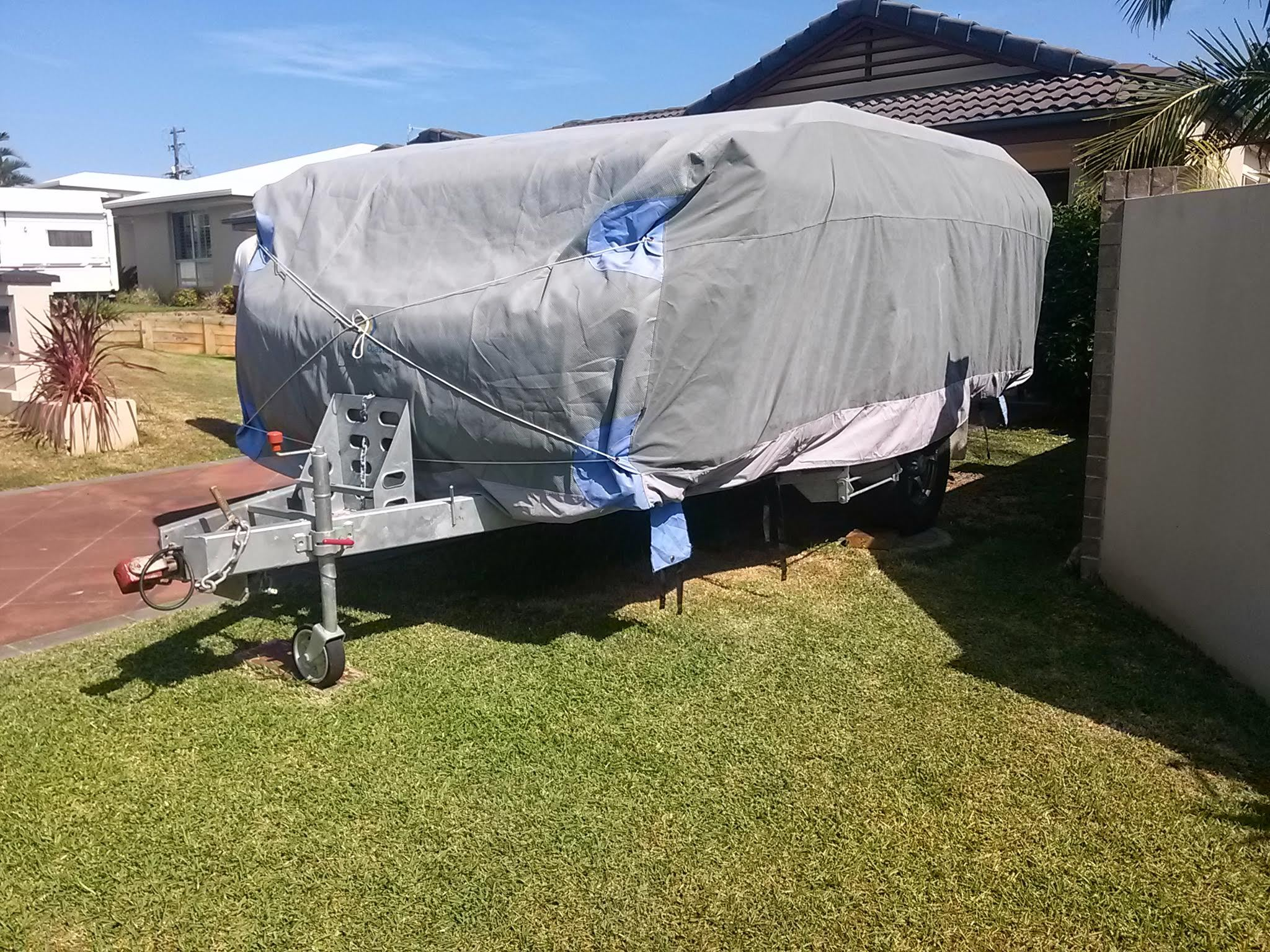 2012; Rego October 2016. Its had minimal use and has not gone off road. No cooking (mainly bbq),no smoking and no pets inside caravan. Annexe has full sides & mesh floor. Also has a full R/H annexe for extra room .Fitted with Jayco roof rack & comes with a full ...