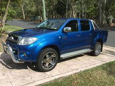 "60,000klms, hard lid, Speedliner, ute liner, tow bar, nudge bar, 20"" mags or alloys, many extras, exc cond.