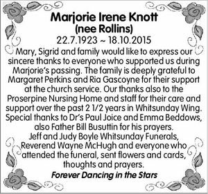 22.7.1923 ~ 18.10.2015