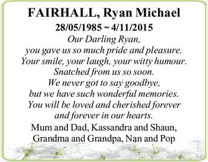 28/05/1985 ~ 4/11/2015