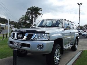 2012 Nissan Patrol GU 7 MY10 ST Silver 5 Speed Manual Wagon