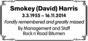 3.3.1955 ~ 16.11.2014