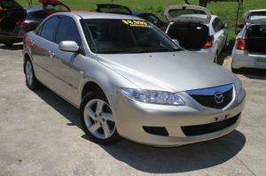 A very well kept Mazda 6!  1 Owner, Great log books, and the condition of this vehicle will please all buyers.  This vehicle looks brilliant in Champagne with Tinted Windows with Factory Alloy Wheels.  This sedan also comes equipped with Cruise Control, and a Log Book Service History  No Statutory ...