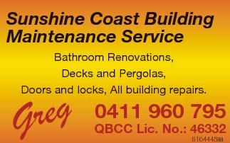 Bathroom Renovations  Decks and Pergolas  Doors and locks,  All building repai...