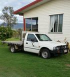 HOLDEN Rodeo DLX,  1993  4 cyl petrol, p/steer, A/C, b/bar, t/bar, regd 7/16, RWC, 5 speed manual, very tidy ute. $2750 neg.