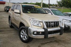 2012 Toyota Landcruiser Prado GXL!  This Turbo Diesel Prado looks great in Metallic Beige with Factory Alloy Wheels and Toyota Bullbar.  The previous owner should be commended for the way they kept this vehicle, as it is in great condition.  Full Log Books, Towbar, Tinted Windows, and overall just a ...