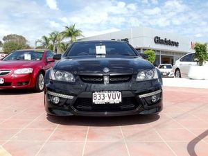 2012 Holden Special Vehicles Clubsport E Series 3 MY12 R8 Black 6 Speed Auto Seq Sportshift Sedan