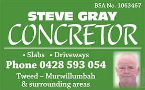 *SLABS   * DRIVEWAYS