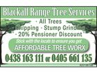 Blackall Range Tree Services