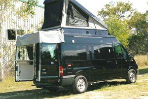 05 FORD TRANSIT   5.2m camper   diesel, auto, TV, 2 solar panels, 2 x 120 AH batteries, show/toil, t/bar, penthouse bdrm, reg 8/16,   $55,000   Phone (07) 41215696 or 0428 299296.