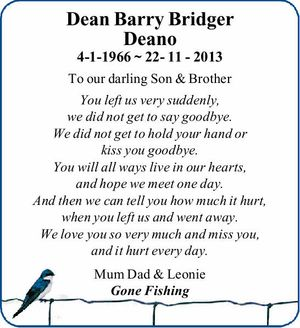 4-1-1966 ~ 22- 11 - 2013