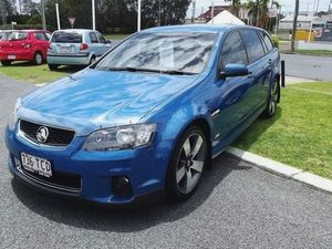 2013 Holden Commodore VE II MY12.5 SV6 Sportwagon Z Series Blue 6 Speed Sports Automatic Wagon