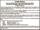 Public Notice Community Open Day - Saturday 5th December 2015 Deebing Creek Mission (former) via Grampian Drive Frasers Property Frasers Property Australia Pty Limited (Frasers Property), formerly known as Australand, has recently purchased the land at 152 - 280 Grampian Drive, Deebing Heights, Queensland from Deebing Developments Pty Ltd. A portion of ...